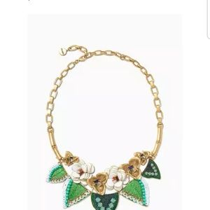 Stella dot camellia statement necklace